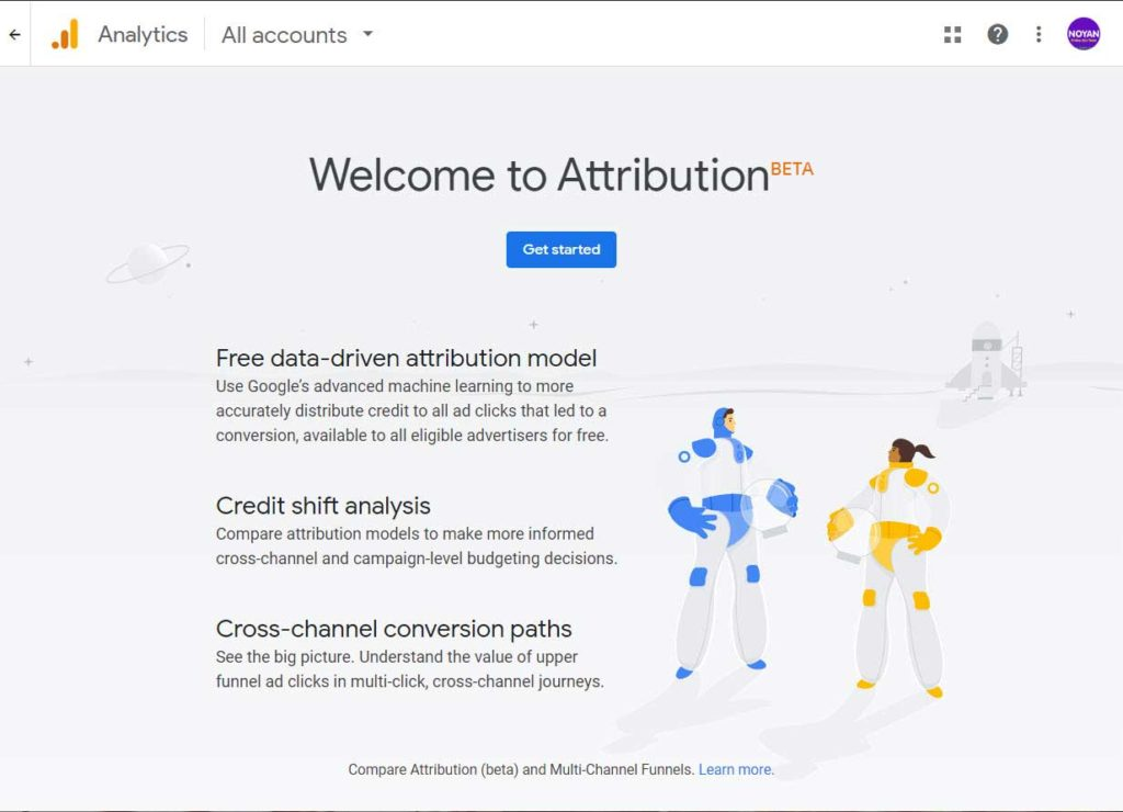 attribution in google analytics