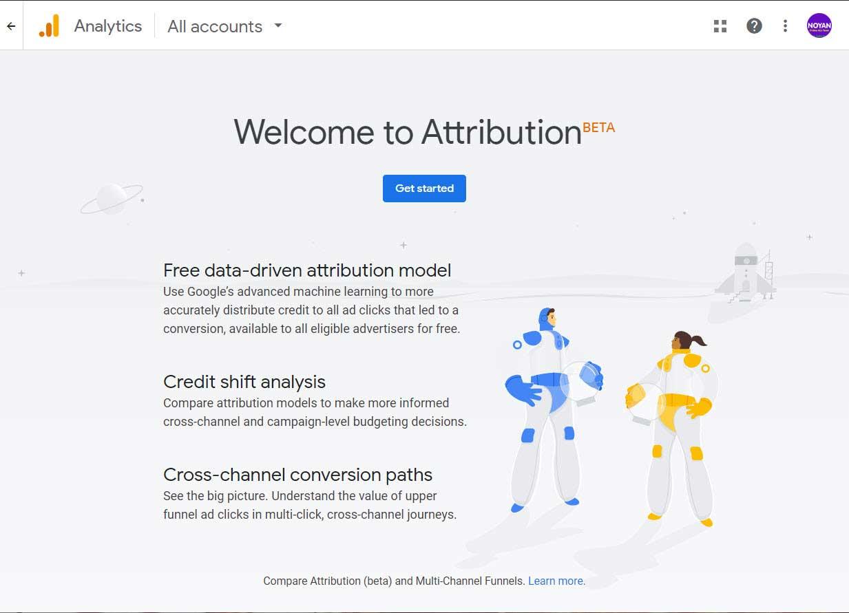 attribution in google analytics